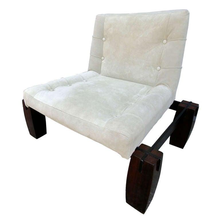Jorge Zalszupin 1960s Brazilian Jacaranda Lounge Chair