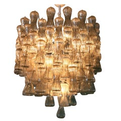 Smoked Glass Venini Chandelier