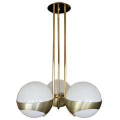 1960s Stilnovo Chandelier