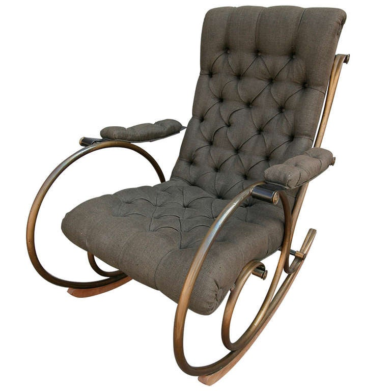Lee Woodard Rocking Chair At 1stdibs
