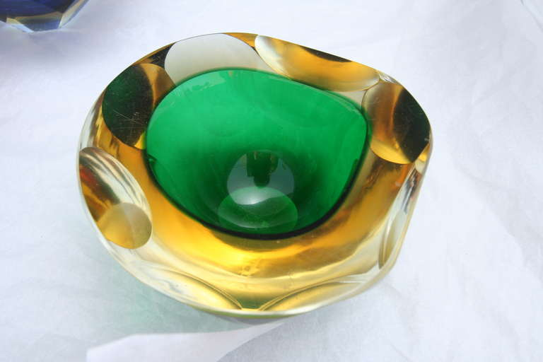 Collection of Colorful Murano Glass Pieces In Good Condition For Sale In Los Angeles, CA