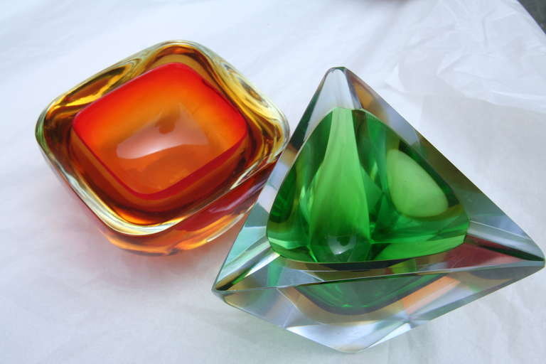 Collection of Colorful Murano Glass Pieces For Sale 3