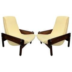 "Pair of Sergio Rodrigues ""Vronka"" Chairs"