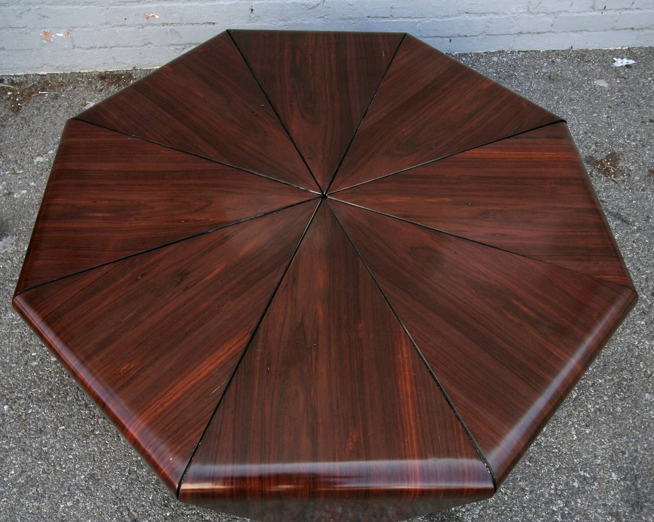 Petalas 1960s Coffee Table by Jorge Zalszupin in Brazilian Jacaranda 3