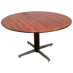 L'Atelier 1960s Brazilian Jacaranda Round Dining Table