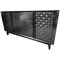 Paul Laszlo Basket Weave Sideboard