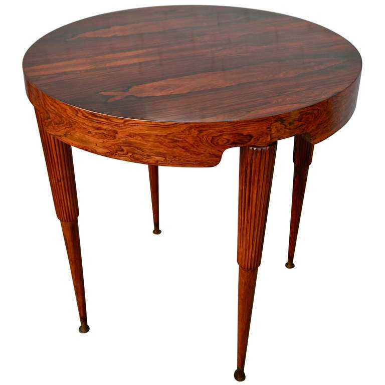 Scapinelli side table at 1stdibs for Geode side table