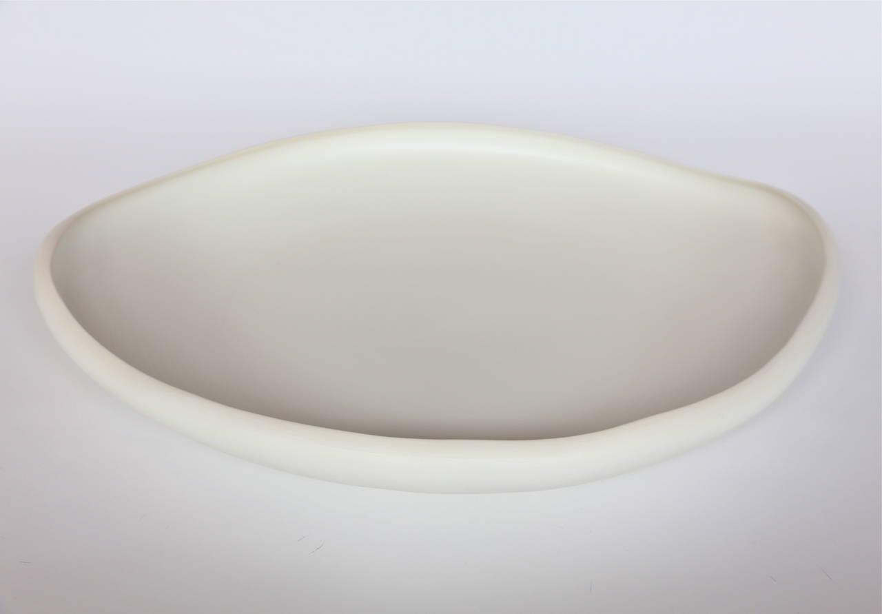 Rina Menardi Handmade Ceramic Lagoon Trays For Sale 1