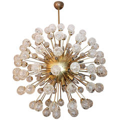 Rose Sputnik Chandelier, 1980s