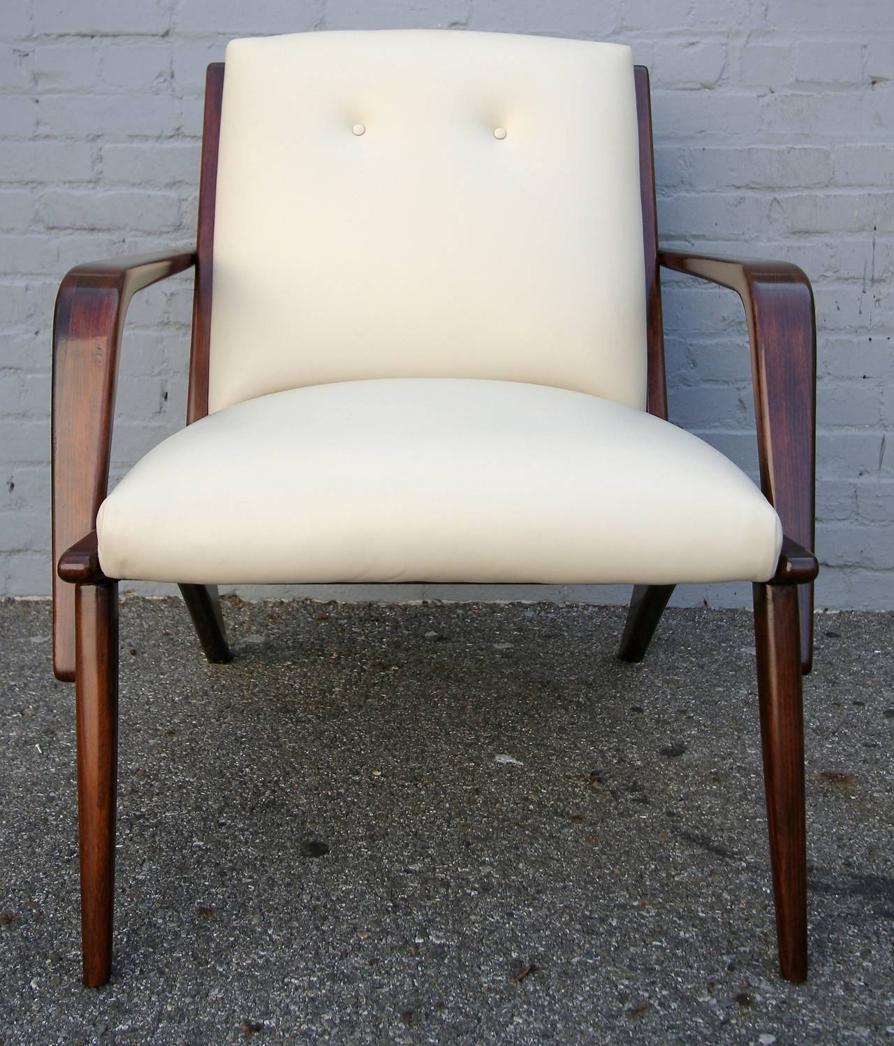 Pair of 1960s Scapinelli Brazilian Armchairs For Sale 1