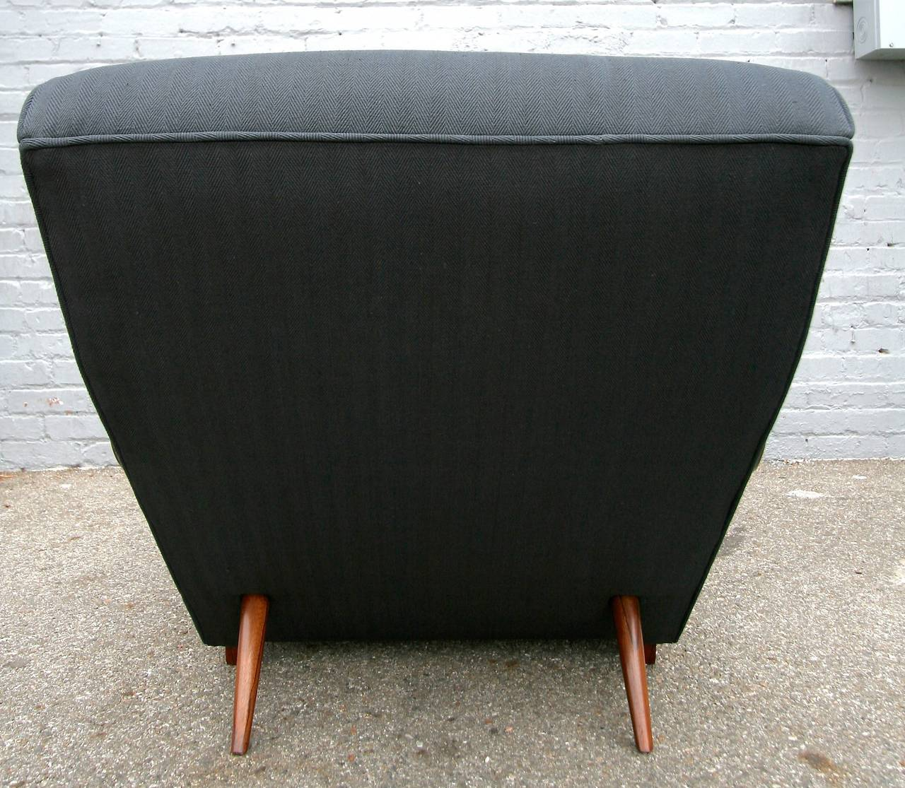 Scapinelli 1960s Brazilian Rosewood Chaise Longue For Sale 1