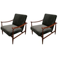 Pair of 1960s Brazilian Armchairs