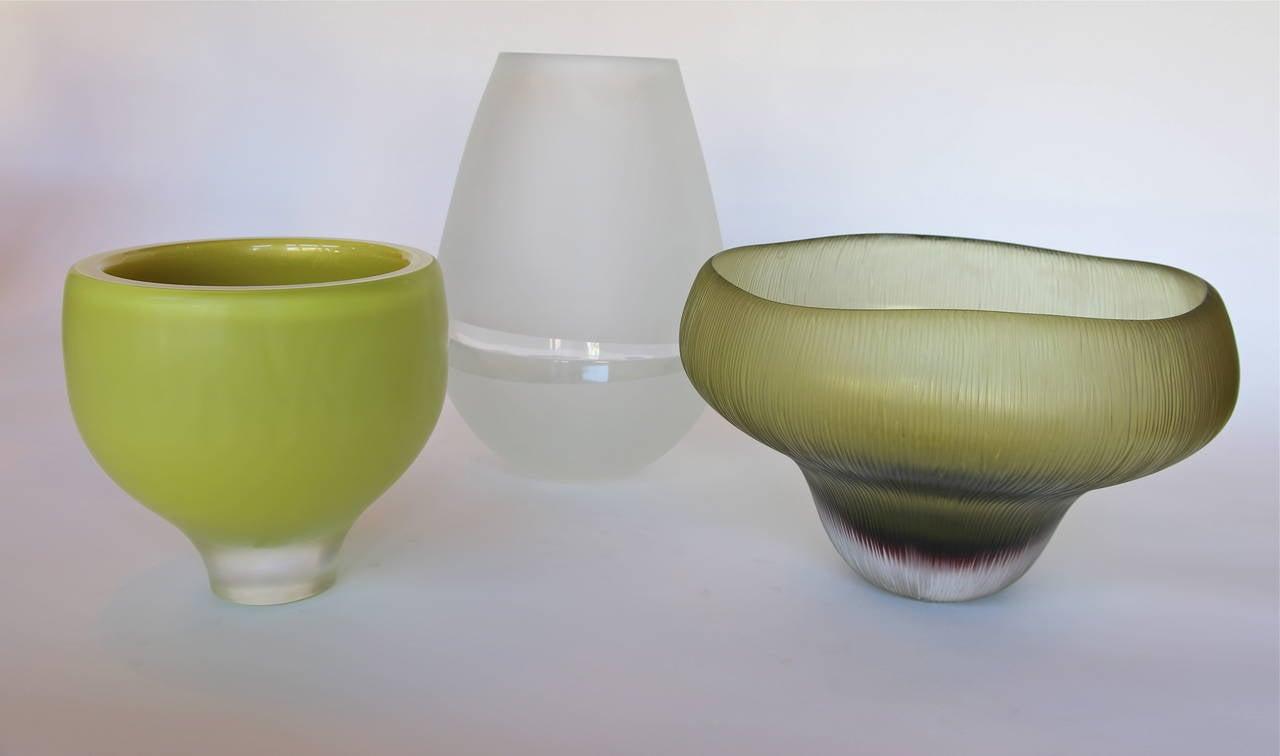 fleur murano glass vase for sale at 1stdibs. Black Bedroom Furniture Sets. Home Design Ideas