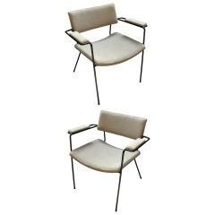 Ein Paar Italienischer Lehnstühle, 1960er