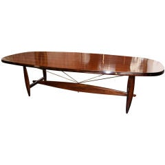 """Sergio Rodrigues """"Burton"""" Dining Table for Ten to Twelve"""