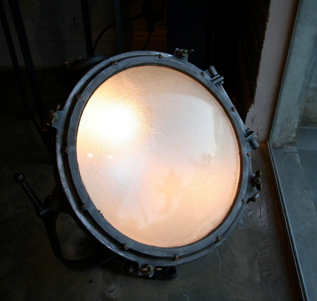 Pair of 1920s Westinghouse Flood Lights For Sale 2
