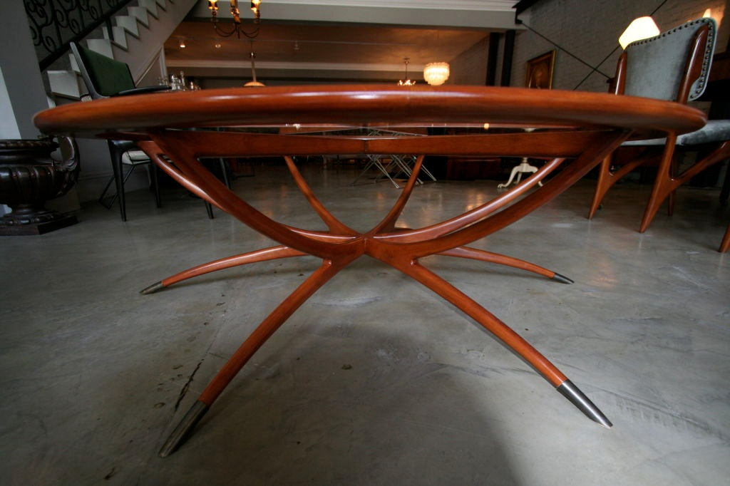 Spider Leg Round Coffee Table By Adesso Studio Limited Edition At 1stdibs