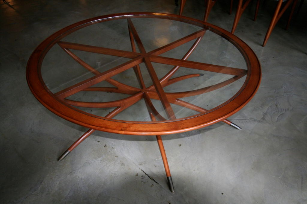 Spider Leg Round Coffee Table by Adesso Studio-Limited Edition image 6