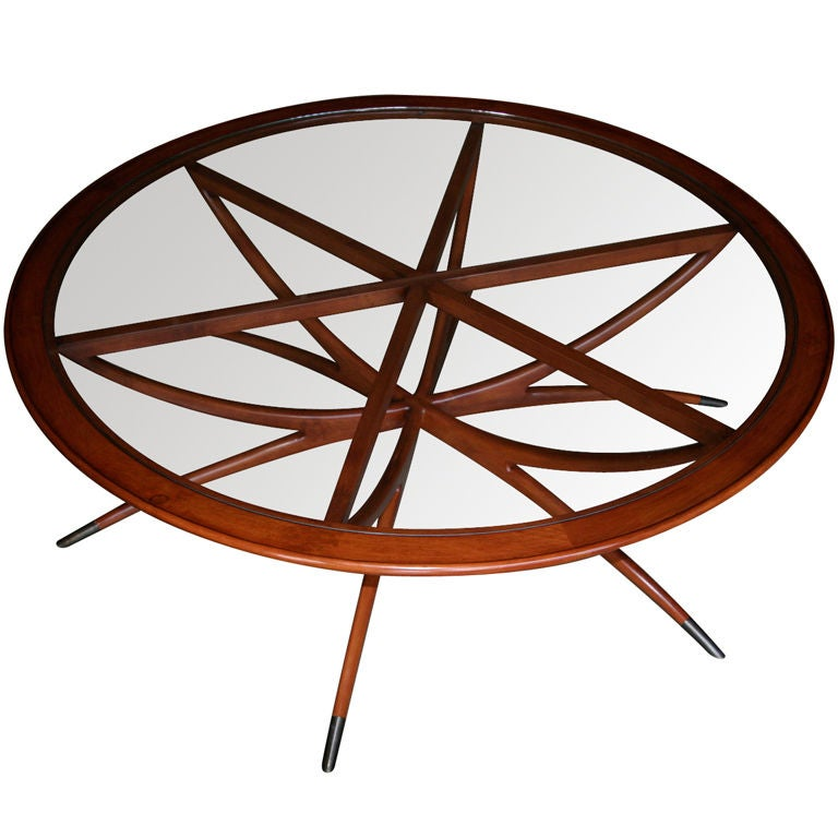 Spider Leg Round Coffee Table by Adesso Studio-Limited Edition