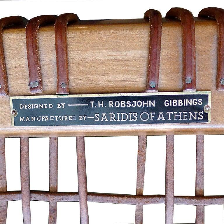 Klismos Bench/Table by T.H. Robsjohn Gibbings Saridis of Athens 6