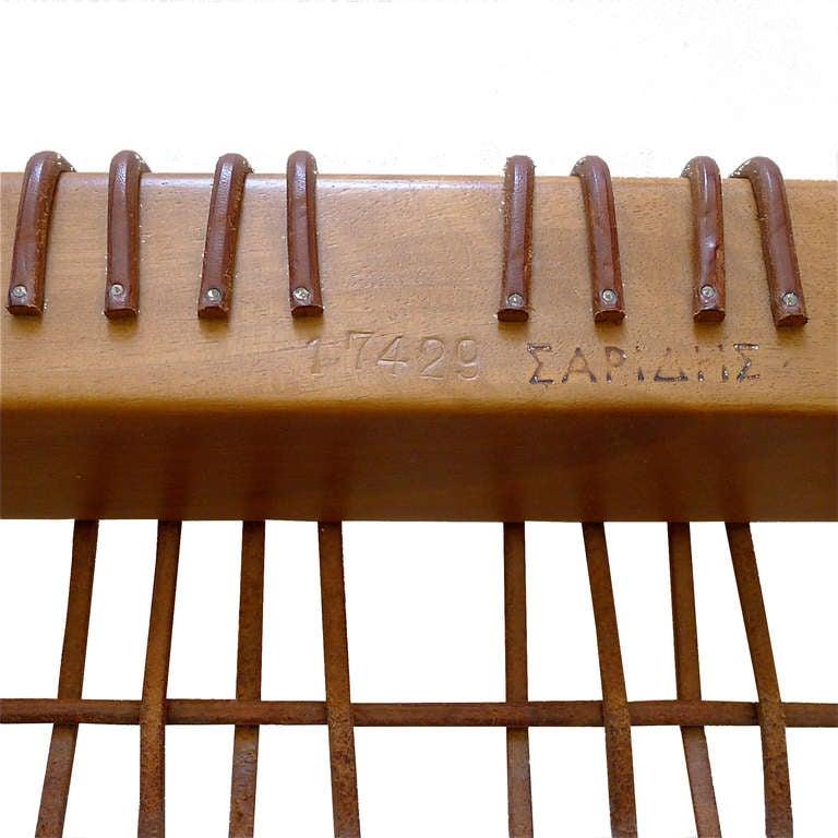 Klismos Bench/Table by T.H. Robsjohn Gibbings Saridis of Athens 7
