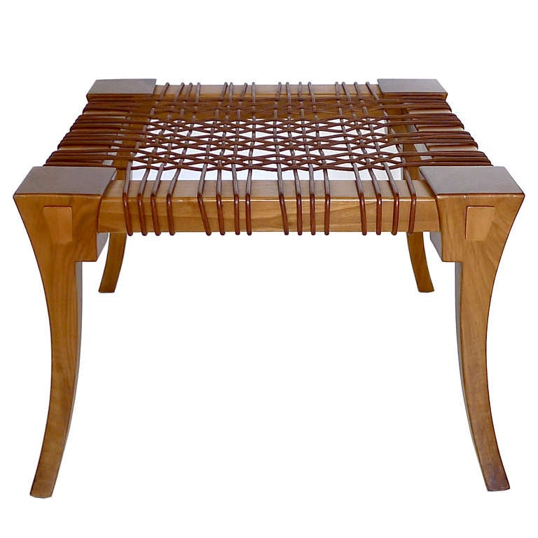 Klismos Bench/Table by T.H. Robsjohn Gibbings Saridis of Athens 4