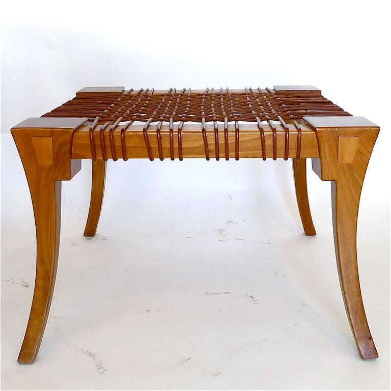 Klismos Bench/Table by T.H. Robsjohn Gibbings Saridis of Athens 2