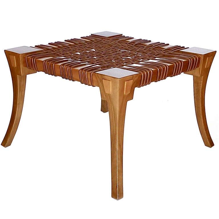 Klismos Bench/Table by T.H. Robsjohn Gibbings Saridis of Athens 3