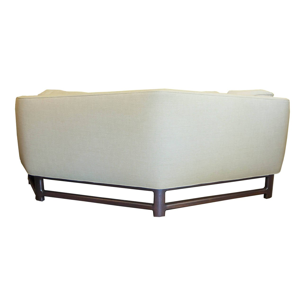 Edward Wormley Wide V Angle Sofa For Dunbar For Sale At 1stdibs