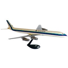Huge Aluminum Eastern Airlines DC8 Scale Model Plane