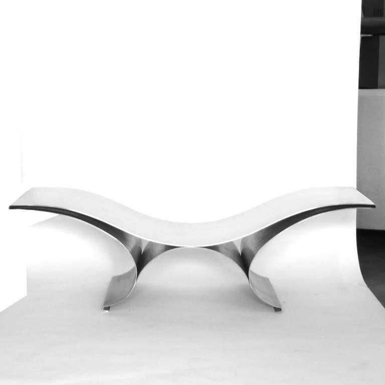 Maria Pergay The Wave Bench 2