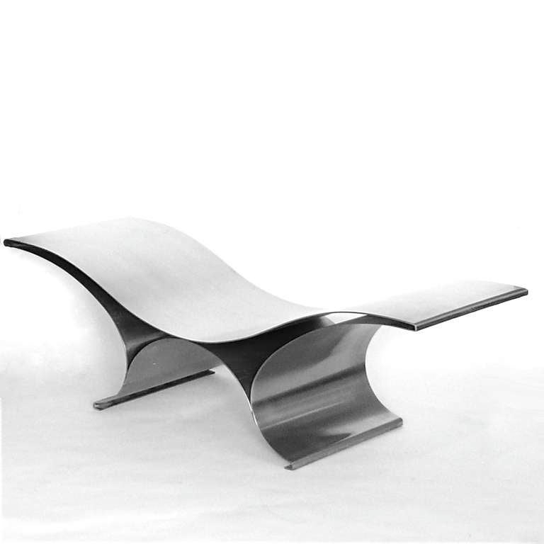 Maria Pergay The Wave Bench 4