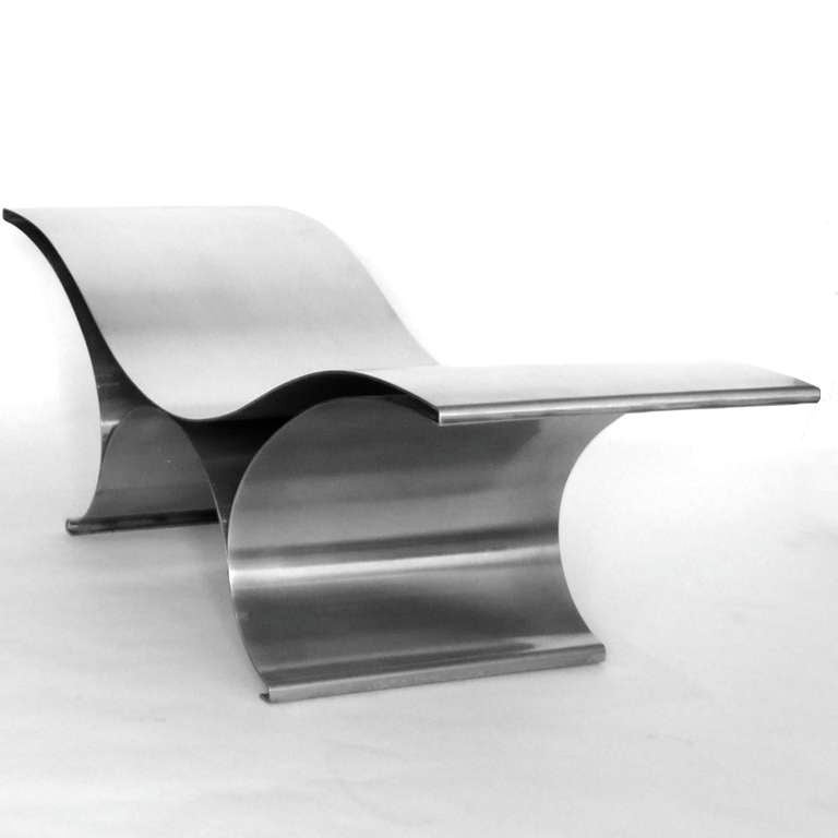 Maria Pergay The Wave Bench 3