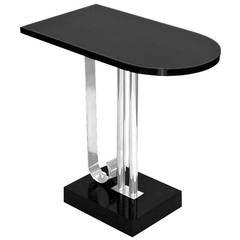 1930s Streamline Moderne Side Table by Belmont