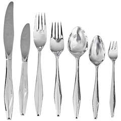 Gio Ponti Sterling Flatware Service for 12 or 18 + Serving Pcs 92 or 134 Pcs