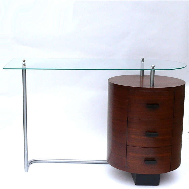Rare Art Deco Desk by Gilbert Rohde for Herman Miller 3
