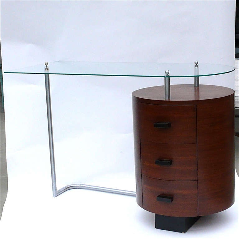 Rare Art Deco Desk by Gilbert Rohde for Herman Miller 2