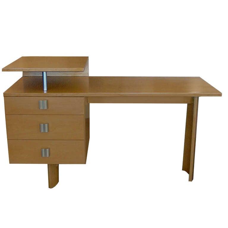Rare Architectural Desk By Eliel Saarinen At 1stdibs