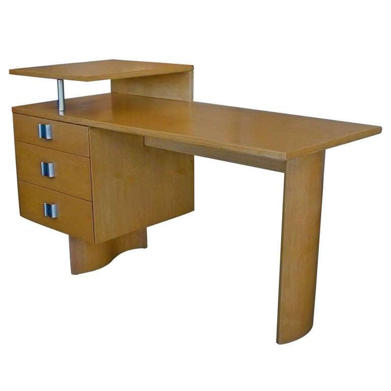 Rare Architectural Desk By Eliel Saarinen