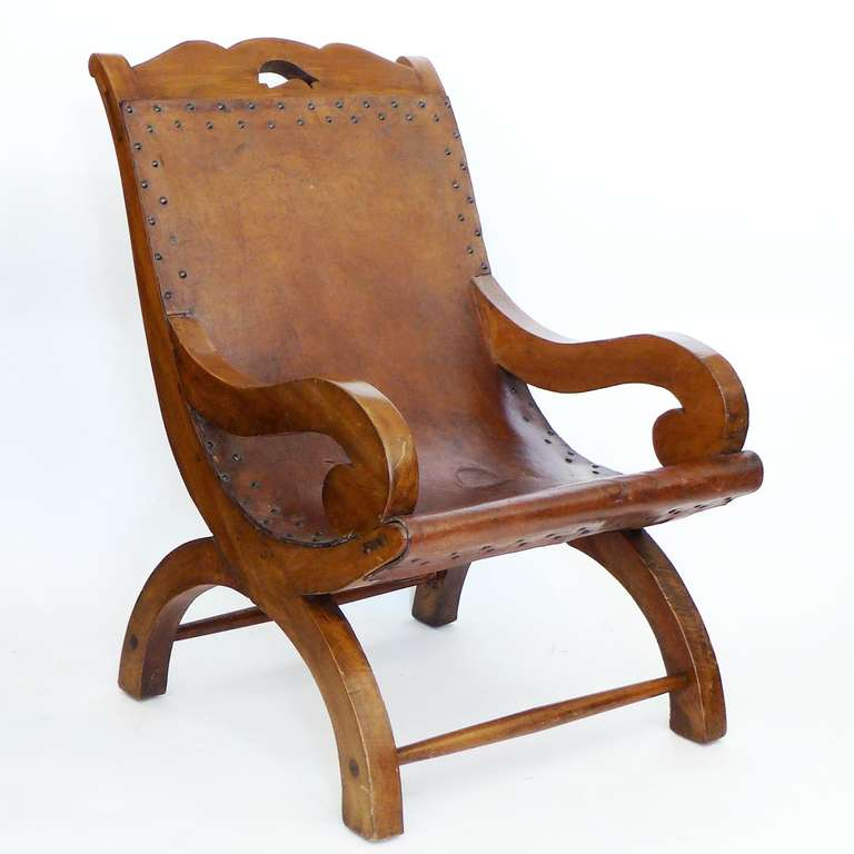 Handmade Chair Original Handmade Chair Signed William Spratling For Sale At  1Stdibs