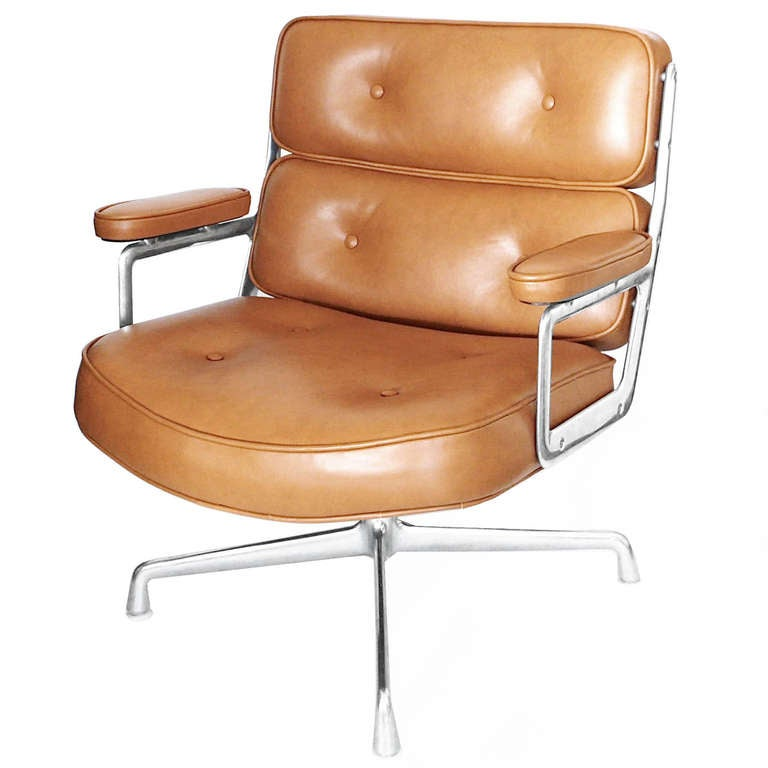 Pair Of Time Life Lobby Chairs By Charles Eames For Herman Miller At 1stdibs