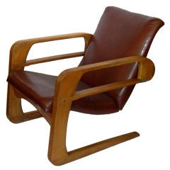 Iconic Original Airline Chair by KEM Weber