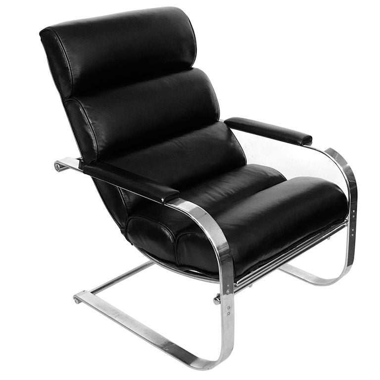 Ultimate Streamline Canteliever Chair By Gilbert Rohde For Troy At 1stdibs