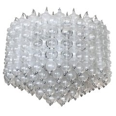 Massive Venini Glass Chandelier
