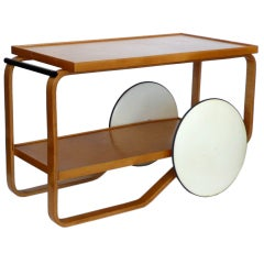 Early Original Alvar Aalto Bar Cart