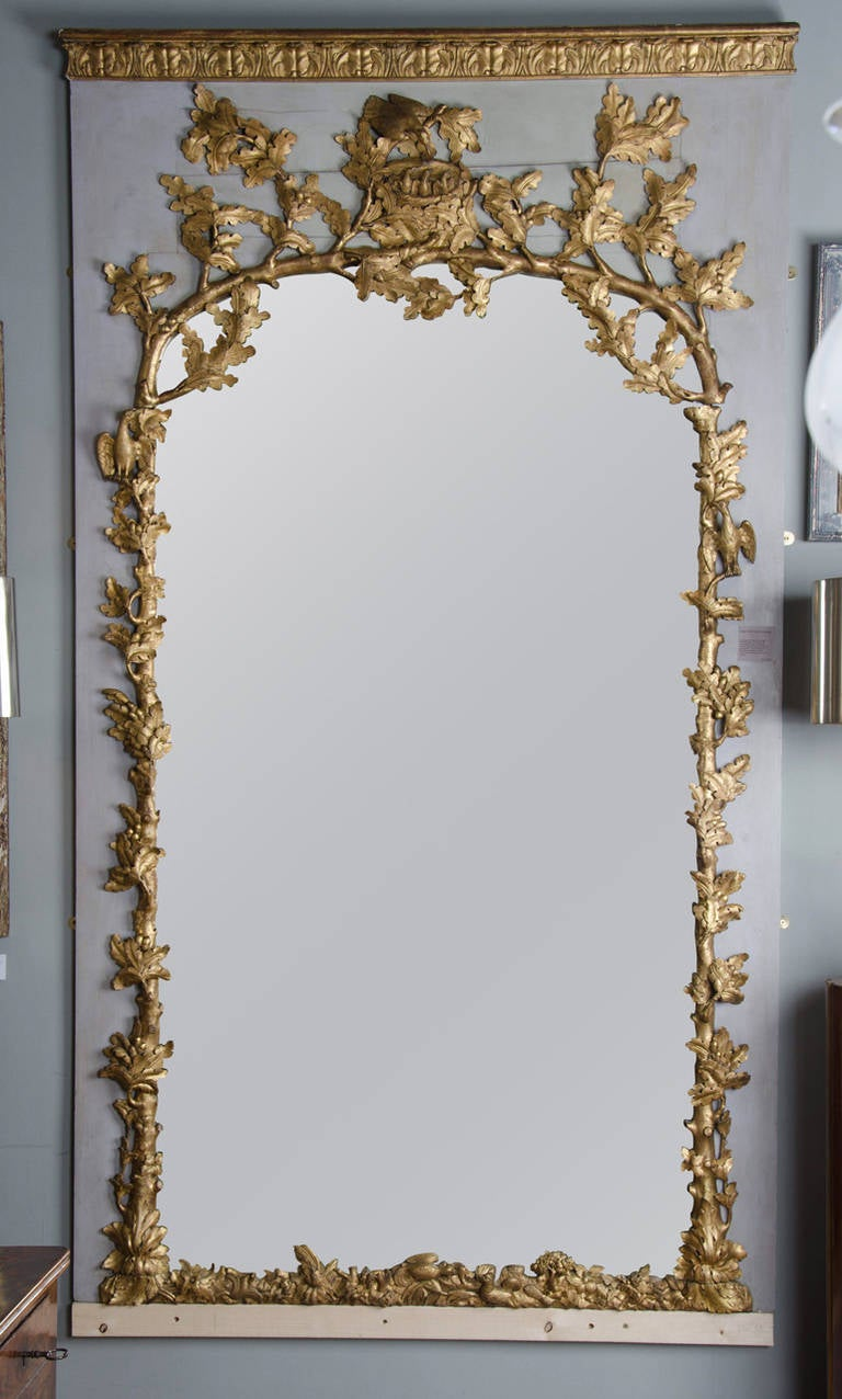 Large 18th Century French Trumeau At 1stdibs