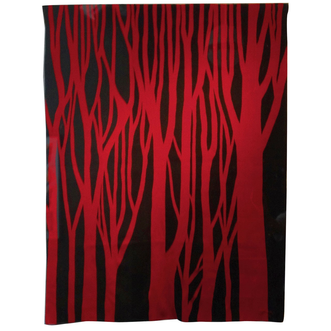"""""""Red Trees,"""" 1966 Tapestry by Jan Yoors"""