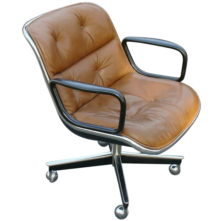 The Knoll Executive Chair By Charles Pollack For Sale