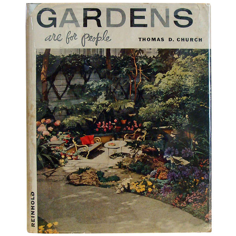 book 39 gardens are for people 39 at 1stdibs