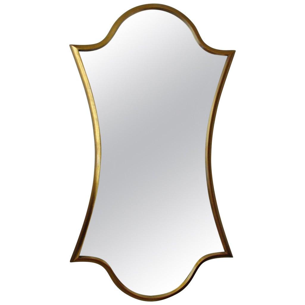"""Vintage """"Keyhole"""" Mirror"""